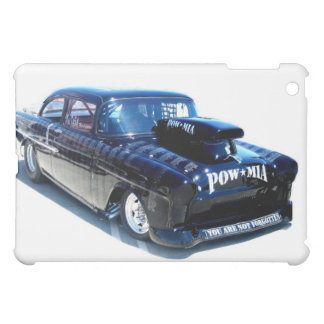 Classic Black POW car ipad case