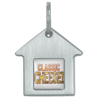 Classic Blue Cheese Pet Tag