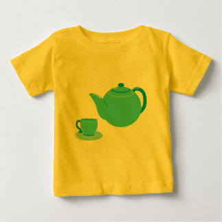 Classic Blue Teapot Baby T-Shirt