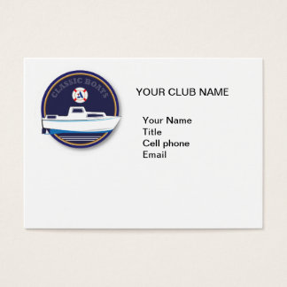 Classic Boat- Albin Business Card