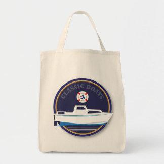 classic Boats - Albin Tote Bags