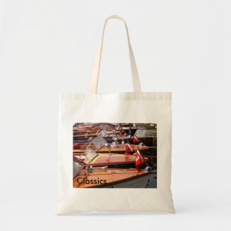 Classic Boats Budget Tote Bag