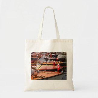 Classic Boats Budget Tote Bag