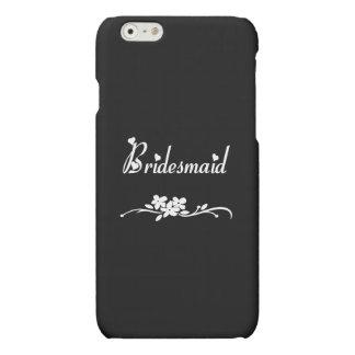 Classic Bridesmaid iPhone 6 Plus Case