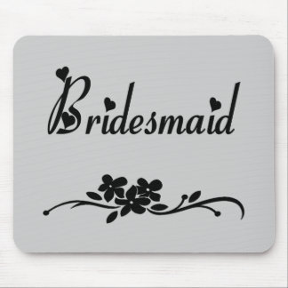 Classic Bridesmaid Mouse Pad