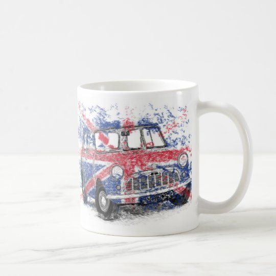 Classic British Mini Coffee Mug