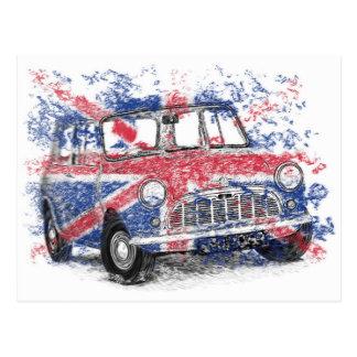 Classic British Mini Postcard