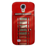 Classic British Red Telephone Box Galaxy S4 Cases