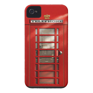 Classic British Red Telephone Box iPhone 4 Case