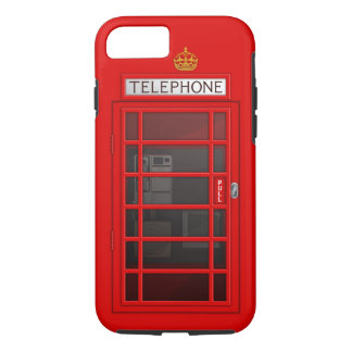 Classic British Red Telephone Box iPhone 7 case