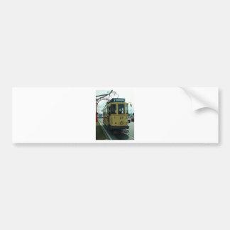Classic British Tram Bumper Sticker