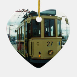 Classic British Tram. Christmas Ornament