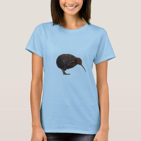 Classic Brown Kiwi Womens Shirt