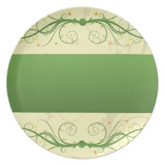 Classic Butterflies Plate