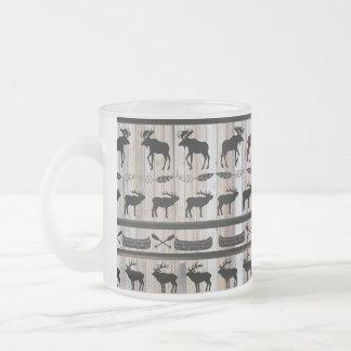 Classic Cabin Blanket Design Mug