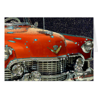 'Classic Caddy' Greeting Card