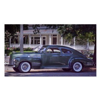 Classic Cadillac Nostalgic Americana Business Card
