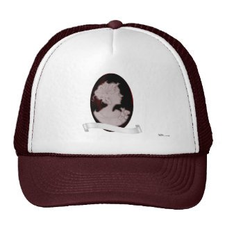 Classic Cameo (Rose) Mesh Hats