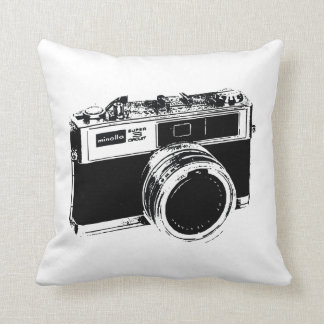 Classic Camera Street Art Cushion