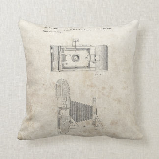 Classic Camera Throw Pillow