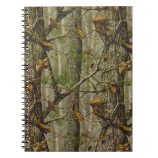 Classic Camouflage Spiral Notebook