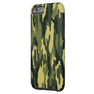 Classic Camouflage Tough iPhone 6 Case