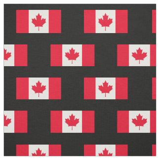Classic Canada Flag Fabric