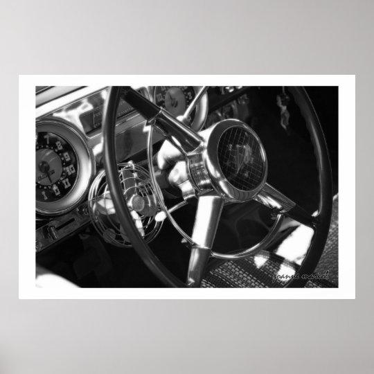 Classic Car 158 Poster Print