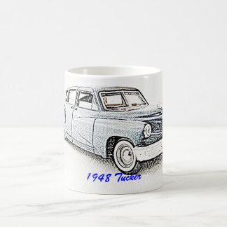 Classic Car 1948 Tucker Basic White Mug