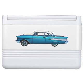 Classic car 1957 Chevy BelAire custom cooler Igloo Cooler