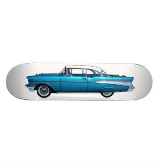 Classic car 1957 Chevy BelAire custom skateboard