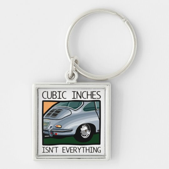 Classic car: Air-cooled 356 more than cubic inches Key Ring