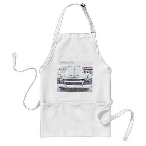 Classic Car Apron
