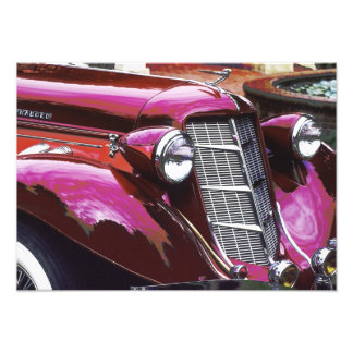 Classic car: Auburn Photographic Print
