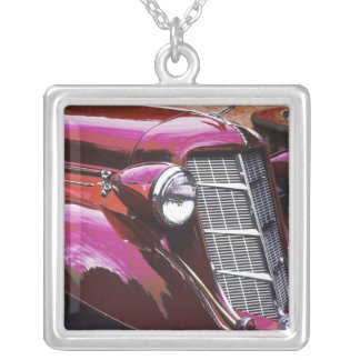 Classic car: Auburn Silver Plated Necklace