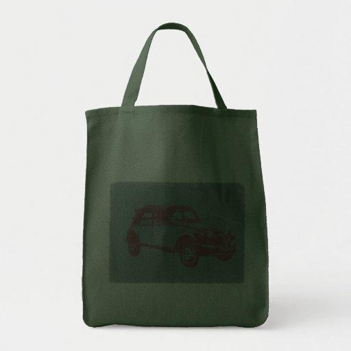 Classic Car Canvas Bags