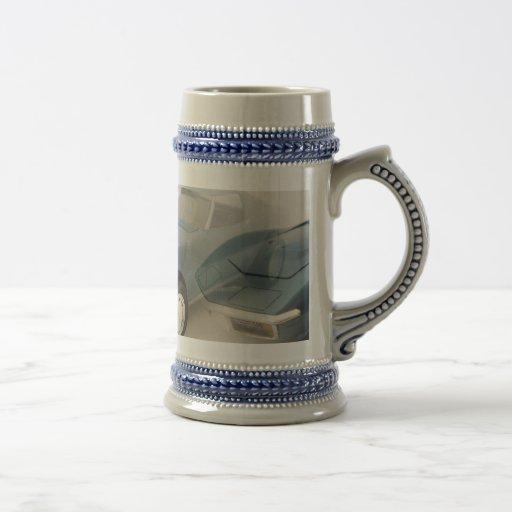 Classic Car Beer Stein Mug