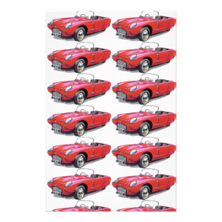 CLASSIC CAR BERKELEY T60 CONVERTIBLE PERSONALISED STATIONERY