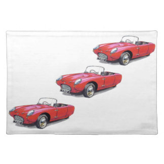 CLASSIC CAR BERKELEY T60 CONVERTIBLE PLACEMAT