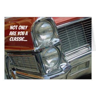 Classic Car Best of Show Encouragement Card