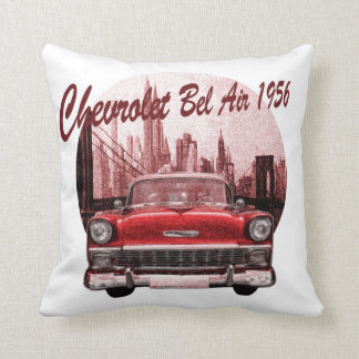 Classic Car Chevrolet Bel Air 1956 Cushion