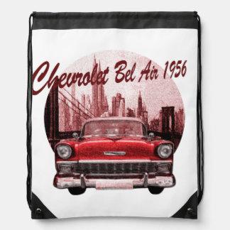 Classic Car Chevrolet Bel Air 1956 Rucksack