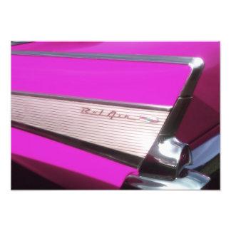 Classic car: Chevrolet Bel Air Photo Print