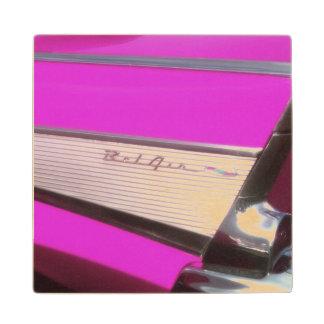 Classic car: Chevrolet Bel Air Wood Coaster