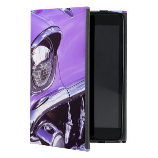 Classic car: Chevrolet with flaming hood iPad Mini Case