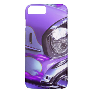 Classic car: Chevrolet with flaming hood iPhone 8 Plus/7 Plus Case