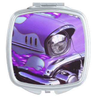 Classic car: Chevrolet with flaming hood Mirrors For Makeup