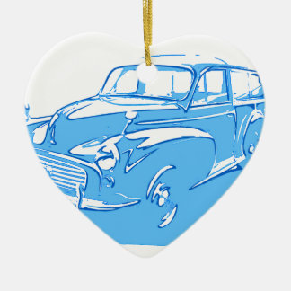 classic car christmas ornament