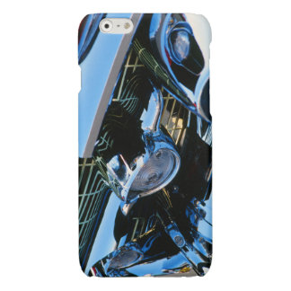 Classic Car Chrome Abstract Red 1957 Chevy Bel Air iPhone 6 Plus Case