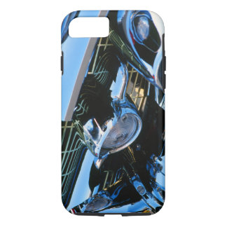 Classic Car Chrome Abstract Red 1957 Chevy Bel Air iPhone 7 Case